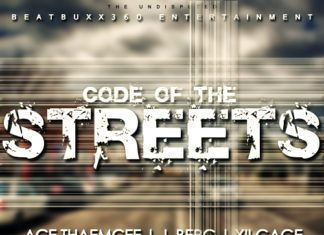 Ace ThaEmcee ft. J. Berg & XII Gage - CODE OF THE STREETS [Official Video] Artwork | AceWorldTeam.com