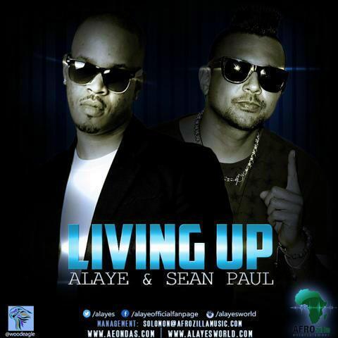 Alaye ft. Sean Paul - LIVING UP Artwork | AceWorldTeam.com