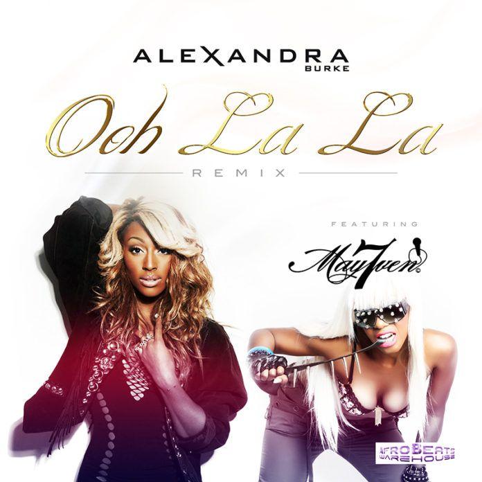 Alexandra Burke ft. May7ven - OOH LA LA [Remix] Artwork   AceWorldTeam.com