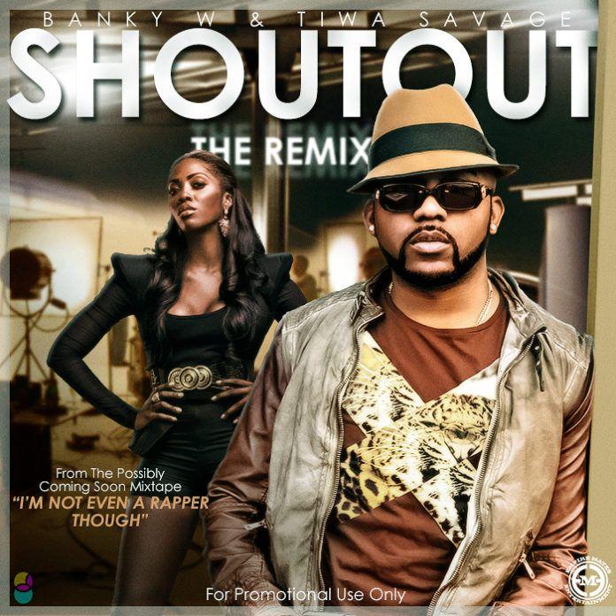Banky W & Tiwa Savage - SHOUT OUT [The Remix] Artwork | AceWorldTeam.com