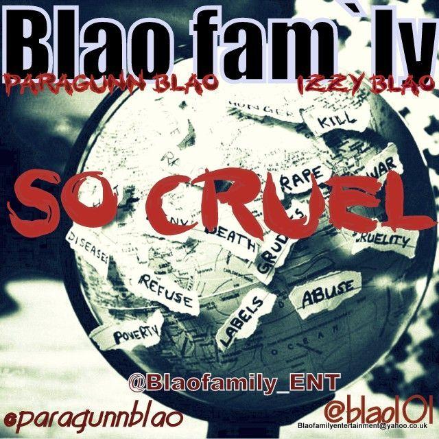 Blao Fam'ly - SO CRUEL Artwork   AceWorldTeam.com
