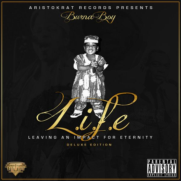 Burna Boy - L.I.F.E Artwork | AceWorldTeam.com