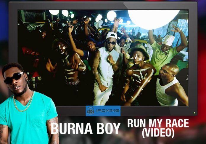 Burna Boy - RUN MY RACE [Official Video] Artwork | AceWorldTeam.com