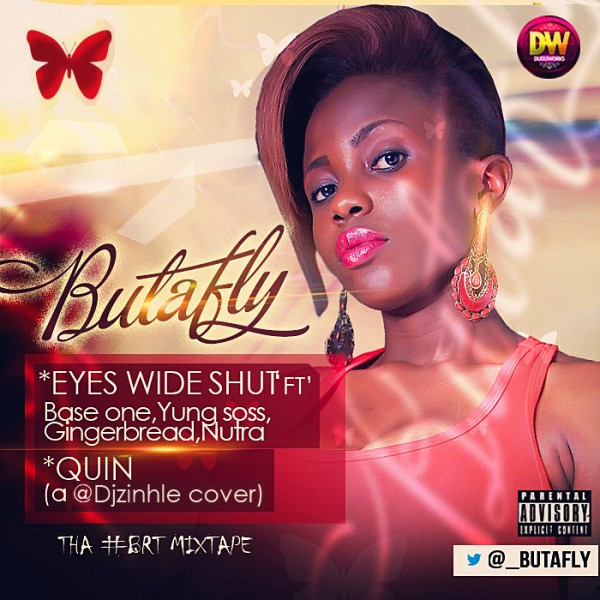 Butafly - EYES WIDE SHUT ft. Base One, Yung Soss, Gingerbread & Nutra + QUIN [a DJ Zinhle cover] Artwork | AceWorldTeam.com