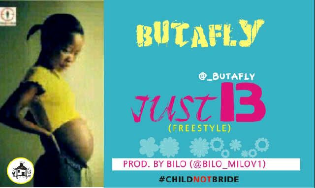 Butafly - JUST13 Freestyle [prod. by Bilo] Artwork | AceWorldTeam.com