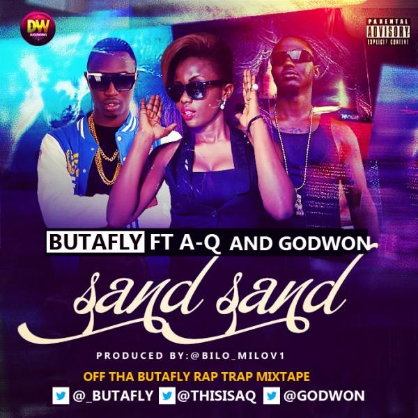 Butafly ft. Godwon & A-Q - SAND SAND [prod. by Bilo] Artwork | AceWorldTeam.com