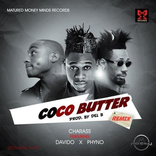 Charass ft. DavidO & Phyno - COCO BUTTER Remix [prod. by Del'B] Artwork | AceWorldTeam.com