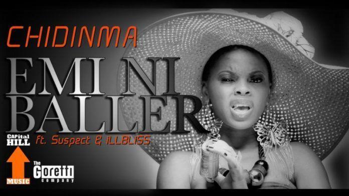 Chidinma ft. Tha Suspect & IllBliss - EMI NI BALLER Artwork | AceWorldTeam.com