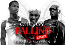 Chingy ft. 2face Idibia & May7ven - FALLING Remix [prod. by Triple O Productions] Artwork | AceWorldTeam.com