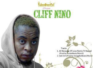 Cliff Nino ft. Raquel - ALL BECAUSE OF LOVE Remix [prod. by PurpleBeatzMoni3] Artwork   AceWorldTeam.com