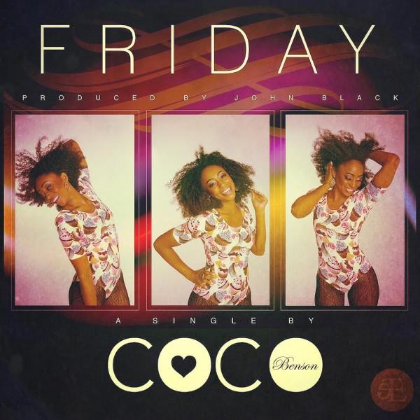 Coco Benson - FRIDAY [prod. by John Black] Artwork | AceWorldTeam.com