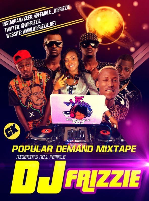 DJ Frizzie - POPULAR DEMAND [Mixtape] Artwork | AceWorldTeam.com