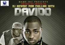 DJ Mewsic - CHILLING WITH DAVIDO [Mixtape] Artwork | AceWorldTeam.com