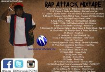 DJ Mewsic - RAP ATTACK [1st Edition] Mixtape Artwork | AceWorldTeam.com