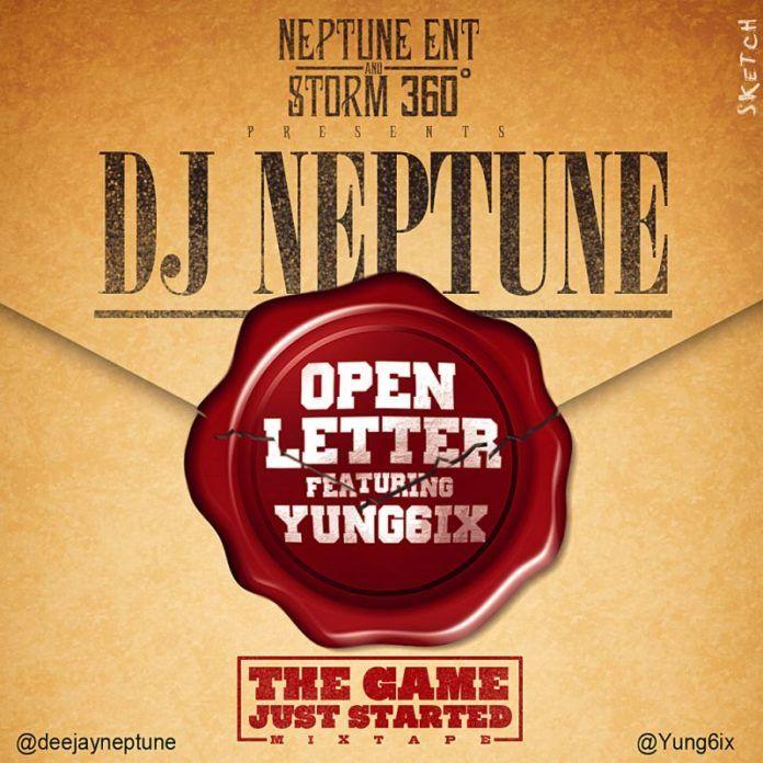 DJ Neptune ft. Yung6ix - OPEN LETTER [a Jay Z cover] | AceWorldTeam.com