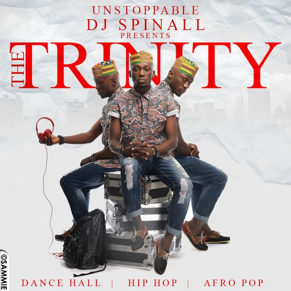 DJ Spinall - THE TRINITY [Party Mix] Artwork | AceWorldTeam.com