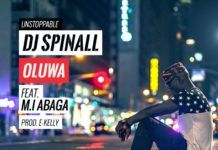 DJ Spinall ft. M.I & Byno - OLUWA [prod. by E-Kelly] Artwork | AceWorldTeam.com