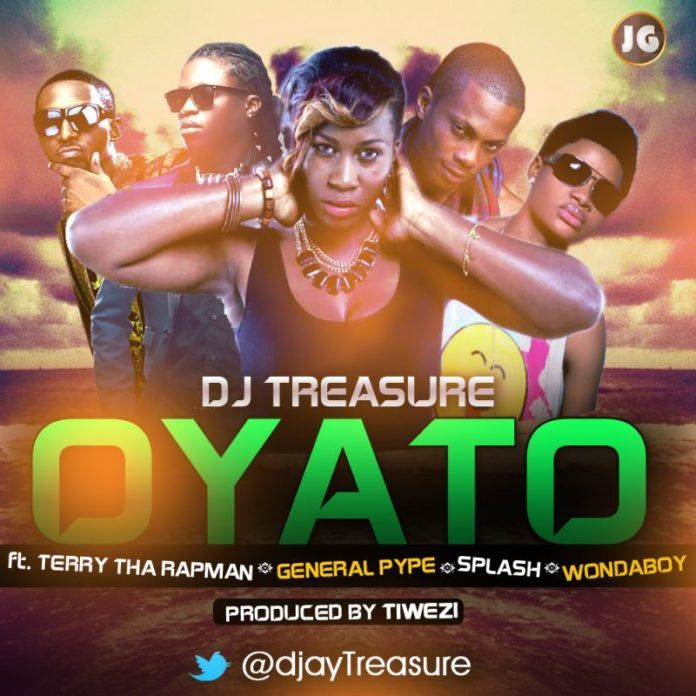 DJ Treasure ft. Terry tha Rapman, General Pype, Splash & WondaBoy - OYATO [prod. by Tiwezi] Artwork | AceWorldTeam.com