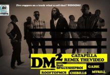 DMSquared ft. SpaceShipBoi, ChiBills, Gaise, SoKleva [of RoofTop MCs] & M-Trill - CATERPILLAR Remix [Official Video] Artwork | AceWorldTeam.com