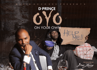 D'Prince - O.Y.O [On Your Own ~ prod. by Don Jazzy] Artwork | AceWorldTeam.com