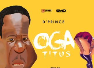 D'Prince - OGA TITUS [prod. by Don Jazzy] Artwork | AceWorldTeam.com