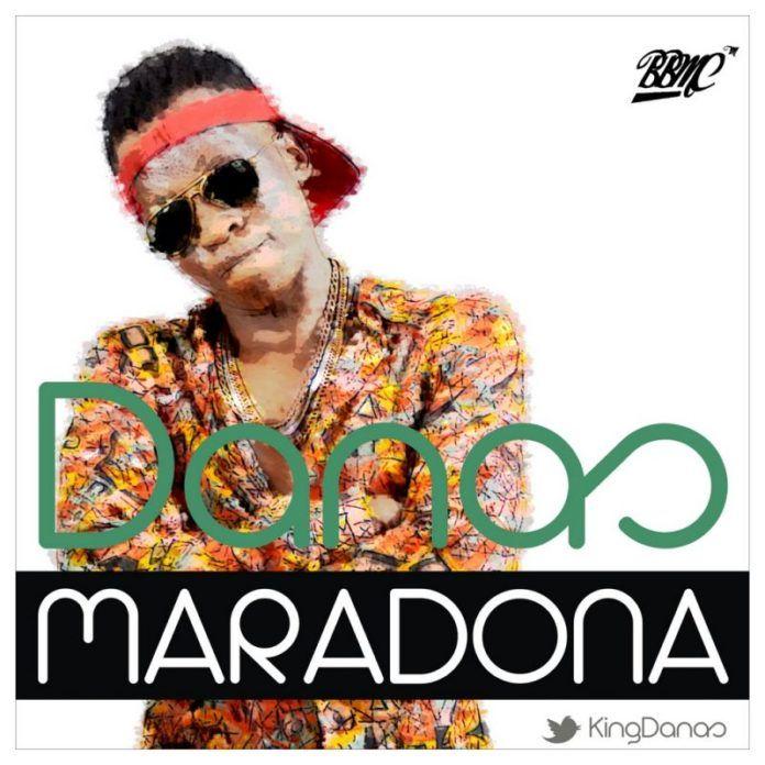 Danas - MARADONA [prod. by Cheddas] Artwork | AceWorldTeam.com