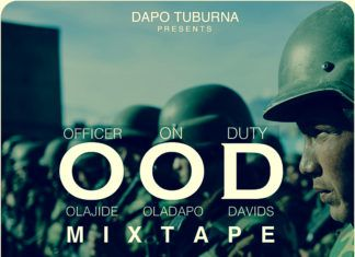 Dapo Tuburna - OFFICER ON DUTY [#OODMixtape] Artwork | AceWorldTeam.com