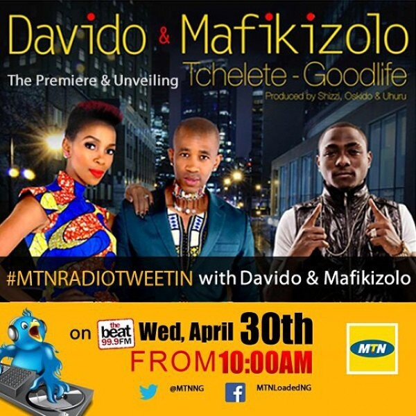 DavidO & Mafikizolo - TCHELETE [Good Life ~ prod. by Shizzi, Oskido & Uhuru] Artwork | AceWorldTeam.com