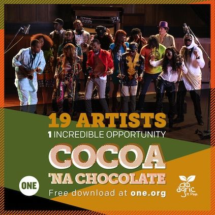 D'banj & African All-Stars - COCOA NA CHOCOLATE [prod. by Cobhams Asuquo] Artwork | AceWorldTeam.com
