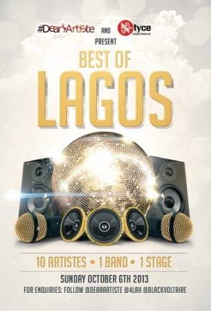 #DearArtiste & N-Tyce Present BEST OF LAGOS [Calling For Nominations] Artwork | AceWorldTeam.com