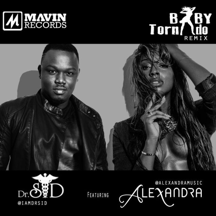 Dr. SID ft. Alexandra Burke - BABY TORNADO [Remix] Artwork   AceWorldTeam.com