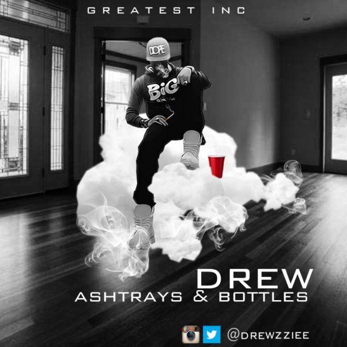 Drew - ASHTRAYS & BOTTLES [prod. by Drew] Artwork | AceWorldTeam.com