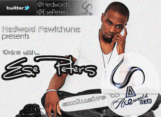 Edward Fortune - 10mins with Ese Peters Artwork | AceWorldTeam.com