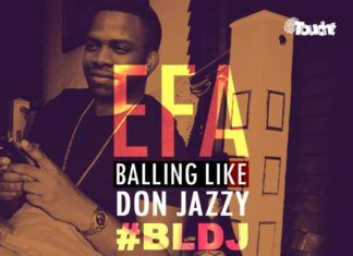 Efa - BALLING LIKE DON JAZZY Artwork | AceWorldTeam.com