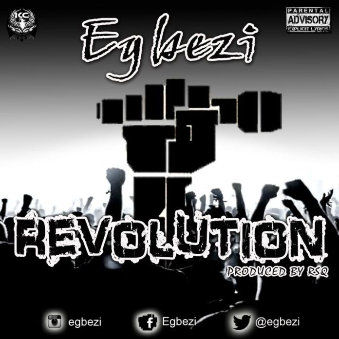 Egbezi - REVOLUTION [prod. by RSQ] Artwork | AceWorldTeam.com