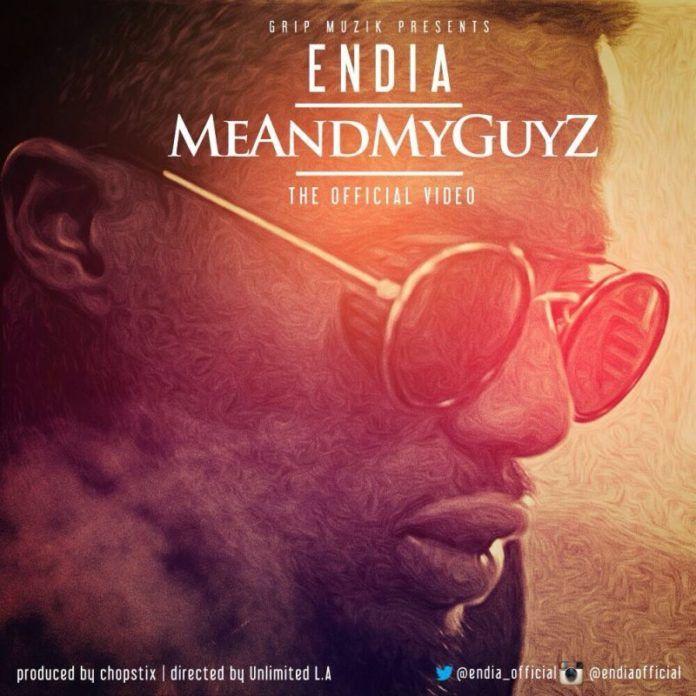 Endia – ME AND MY GUYZ [Official Video] Artwork | AceWorldTeam.com