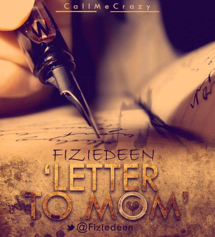 Fiziedeen - LETTER TO MOM [a Nas cover] Artwork | AceWorldTeam.com
