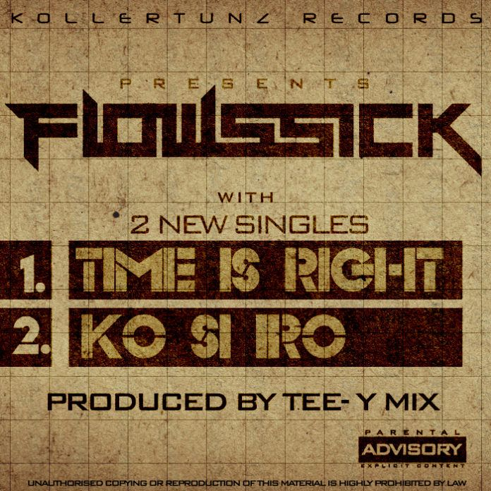 Flowssick - TIME IS RIGHT + KO SI IRO Artwork | AceWorldTeam.com