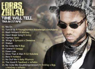 Forbs Zhilah - TIME WILL TELL Artwork [Back Cover] | AceWorldTeam.com