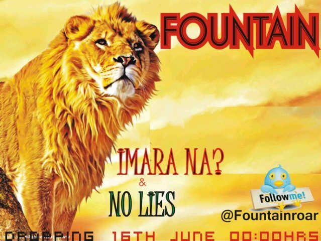 Fountain - NO LIES + IMARA NA Artwork | AceWorldTeam.com