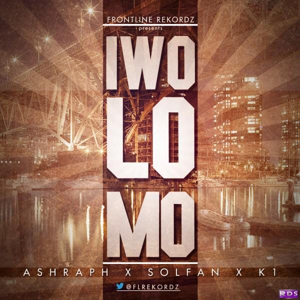 Frontline Rekordz ft. Ashraph, Solfan & K1 - IWO LO MO Artwork   AceWorldTeam.com