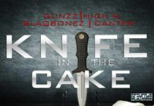 Gunzz, High M, Blaqbonez & Danter - KNIFE IN THE CAKE Artwork | AceWorldTeam.com