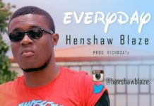 Henshaw Blaze - EVERYDAY [prod. by RichBeatz] Artwork | AceWorldTeam.com
