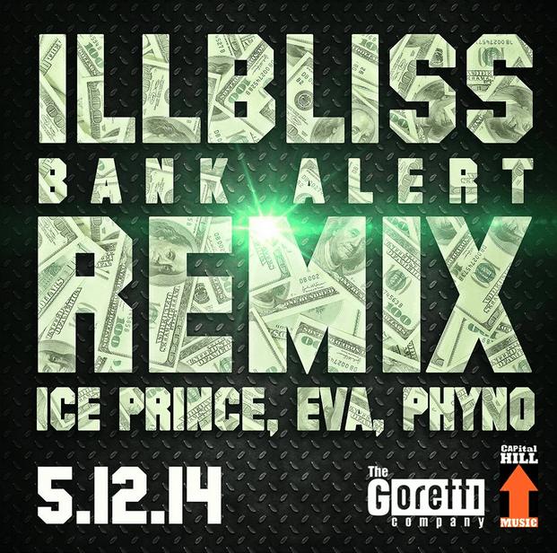 IllBliss ft. Ice Prince, Eva Alordiah & Phyno - BANK ALERTS [Remix] Artwork | AceWorldTeam.com