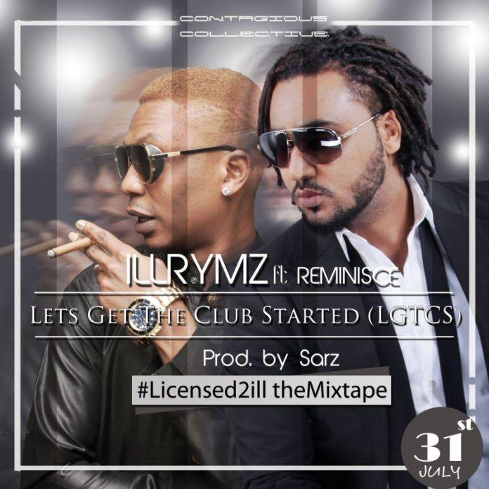 Illrymz ft. Reminisce - LET'S GET THE CLUB STARTED [prod. by Sarz] Artwork | AceWorldTeam.com