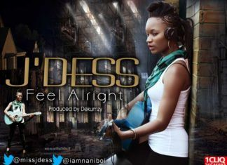 J'Dess - FEEL ALRIGHT [prod. by Dekumzy] Artwork | AceWorldTeam.com