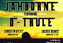 Jahborne ft. D'Truce - STREET MUSIC Freestyle + SALUTE Remix Artwork | AceWorldTeam.com