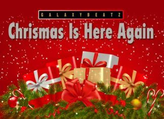 Jimoh Waxiu - CHRISTMAS IS HERE AGAIN Artwork | AceWorldTeam.com