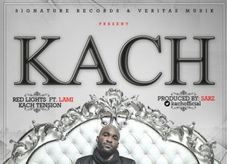 Kach - RED LIGHTS ft. Lami Phillips + KACH TENSION Artwork | AceWorldTeam.com