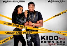 Kido ft. Karen Igho - JUMP AND PASS [prod. by ElMore] Artwork | AceWorldTeam.com